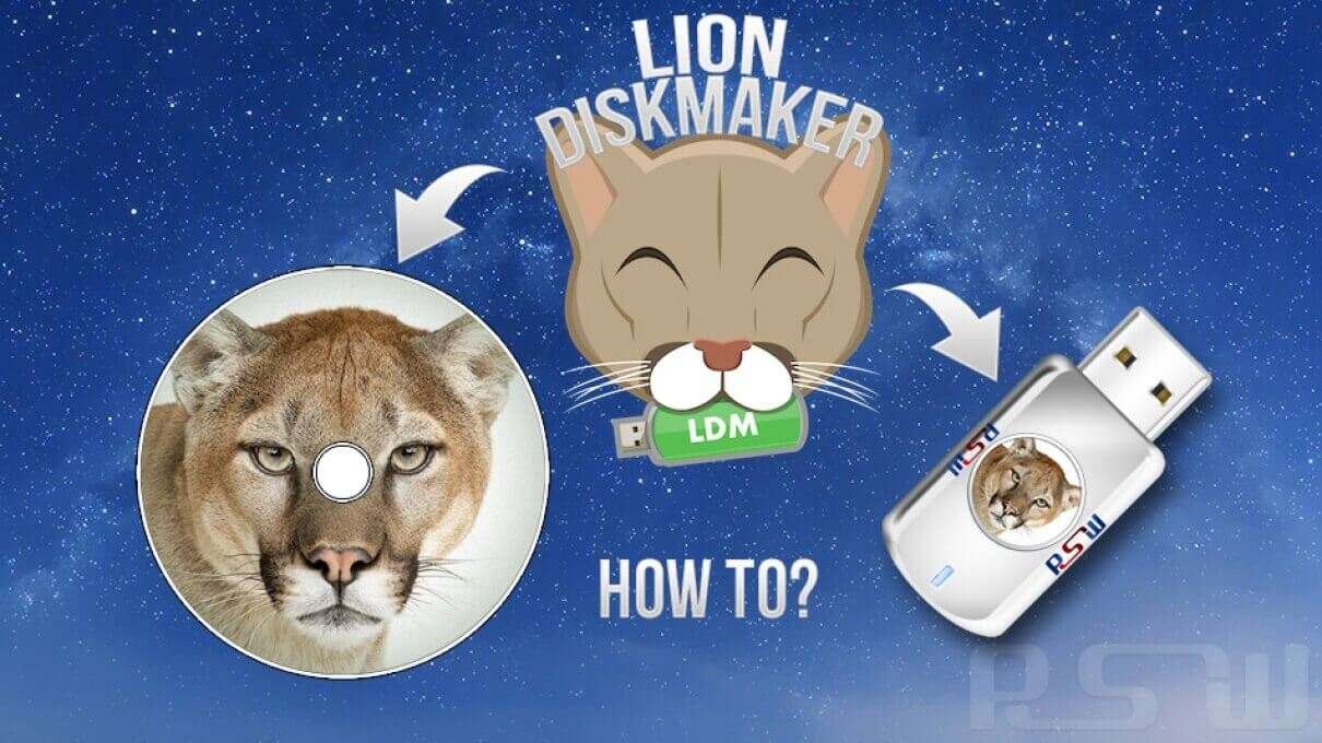 "Create an OS X Mountain Lion Installation Boot DVD or USB Drive with ""Lion DiskMaker"""