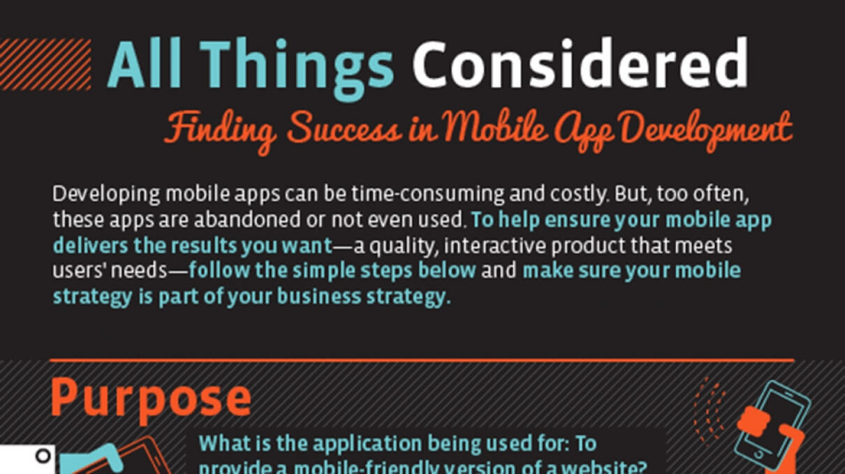 Finding Success in Mobile App Development [INFOGRAPHIC]