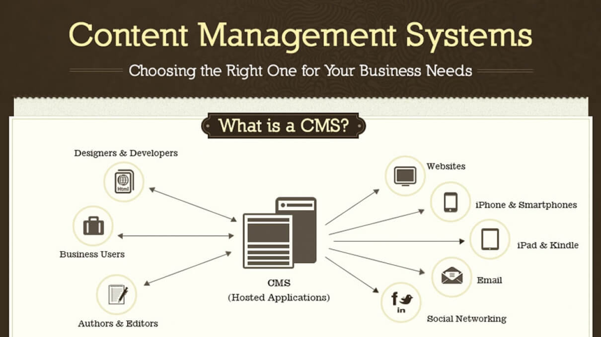 Choosing the Right CMS for Your Business [INFOGRAPHIC]